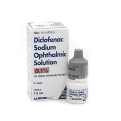Diclofenac Ophthalmic Solution