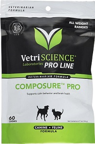 Composure Pro Bite Size Chews for Dogs -Cats