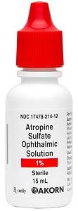 Atropine Ophthalmic Solution
