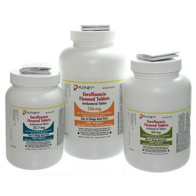 Enrofloxacin Flavored Tablet