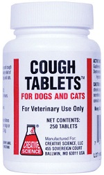 Cough Tab Dog and Cat