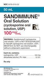 Sandimmune Oral Suspension