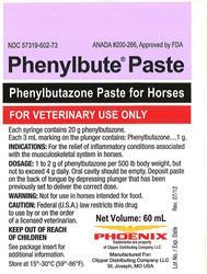 Phenylbutazone Paste