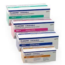 Clavamox Chewable Tablet
