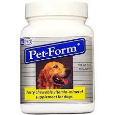 Pet Form Tablets