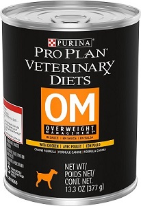 Purina Vet Diet Dog OM Overweight Can