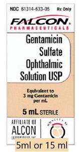Gentamicin Ophthalmic Solution