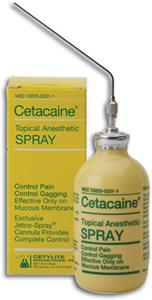 Cetacaine Spray
