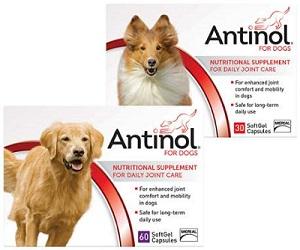Antinol Gel Caps for Dogs