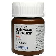 Methimazole PAR