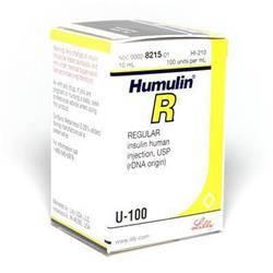 Insulin Humulin Regular