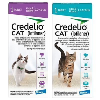 Credelio Chewable Tablet Cat