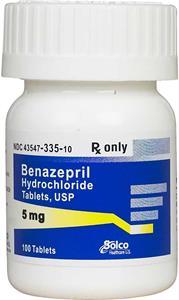 Benazepril Tablet Solco Brand