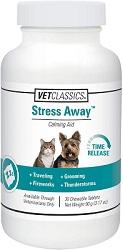 Vet Classics Stress Away Chew Tabs