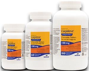 Carprieve Carprofen Chewable Tablet