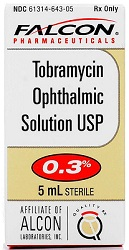 Tobramycin Ophthalmic Solution