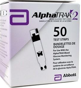 AlphaTrak II Test Strips 50 count